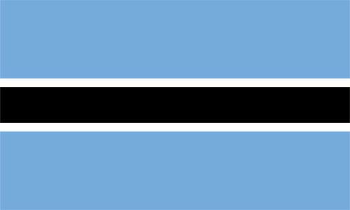 Bandera de Botswana
