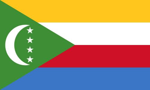 Bandera de Comoras