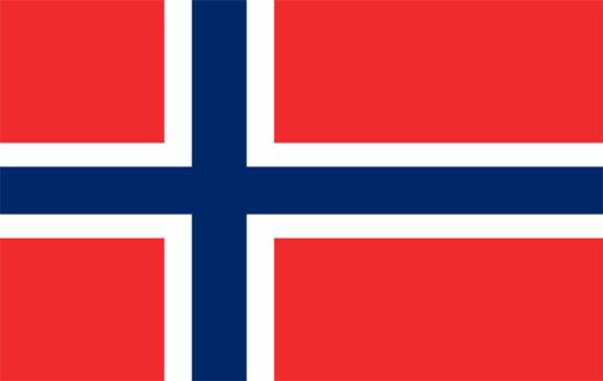 Bandera de Noruega