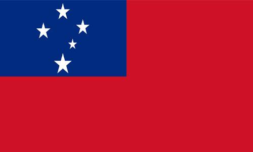 Bandera de Samoa