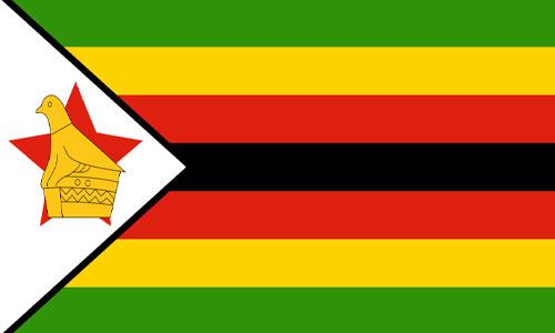 Bandera de Zimbabwe (Zimbabue)