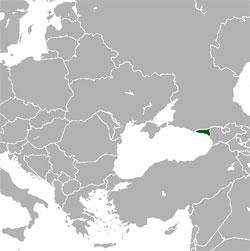 Mapa de Abjasia