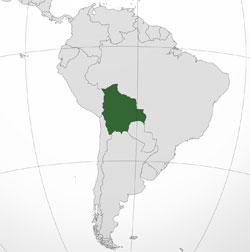 Mapa de Bolivia