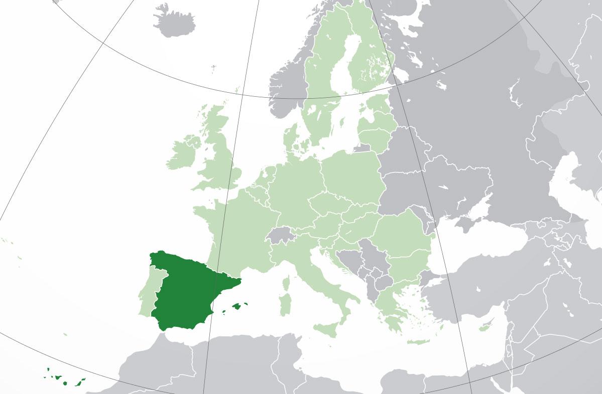 Mapa De España Donde Está Queda País Encuentra Localización Situación Ubicación Capital Mapamundi País Del Sol Magníficas Playas Longevos Ciudad Turismo Cual Es Político Físico Mudo Planisferio Mapamundial Co