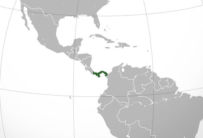 Localización geográfica de Panamá