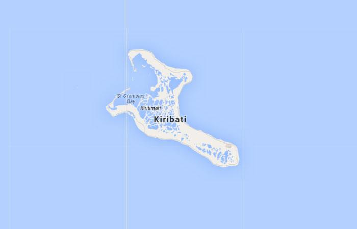 Mapa de Kiribati
