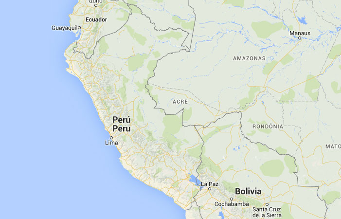 Mapa de Perú