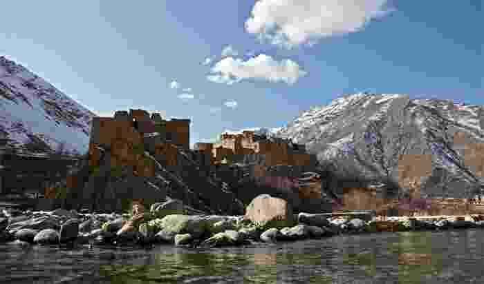 Edificios en la provincia de Panjshir