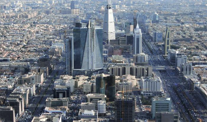 Vista de la ciudad de Riyadh o Riad