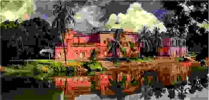 Museo de arte folklore en Sonargaon