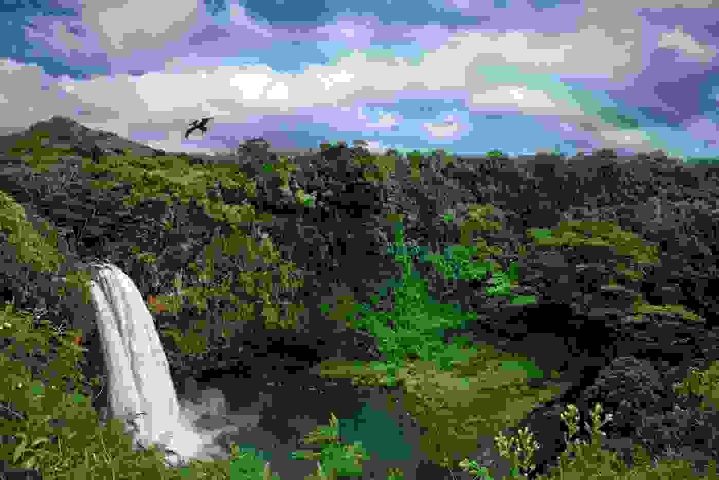 Catarata Arco Iris en el Parque Nacional de Noel Kempff