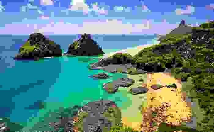 Playa del archipiélago de Fernando de Noronha
