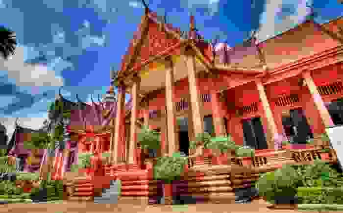 Museo Nacional de Camboya en Nom Pen.