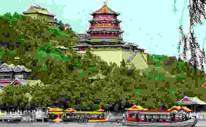 Antiguo Palacio de verano del imperio chino