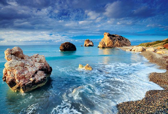 Petra tou Romiou, lugar de nacimiento legendario de Afrodita