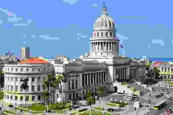 Capitolio, en la ciudad de La Habana