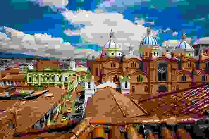 Catedral Nueva, en la ciudad de Cuenca