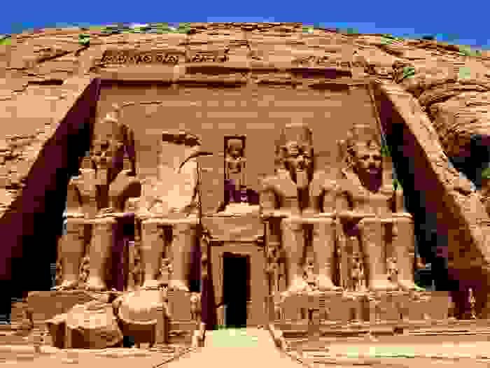 El Templo de Ramsés II (Abu Simbel)