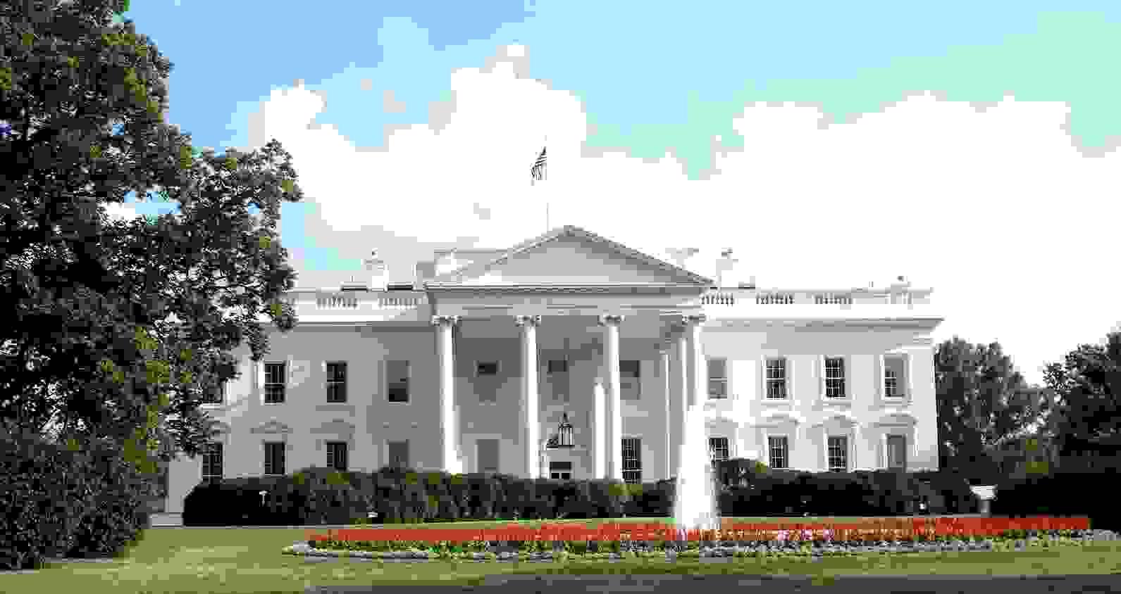 Whitehouse (La Casa Blanca), residencia oficial y principal centro de trabajo del presidente de los Estados Unidos