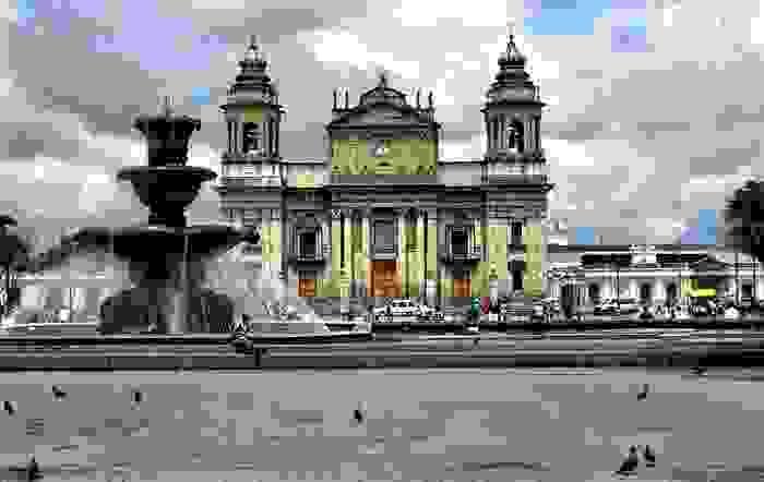 Catedral metropolitana de la Ciudad de Guatemala