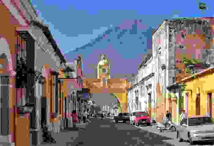 Ciudad de Antigua Guatemala, enclave importante durante la colonización española