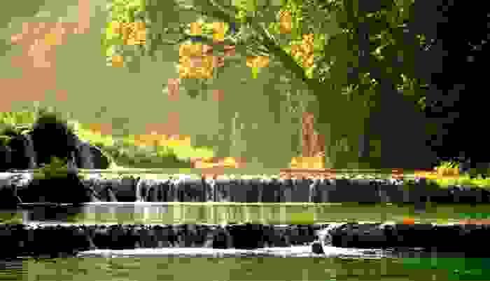 Semuc Champey, paraje natural sobre el río Cahabón