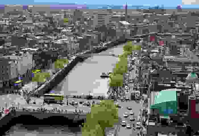 Ciudad de Dublín, capital del país