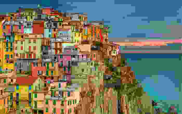 Manarola, una de las cinco poblaciones de Cinque-Terre