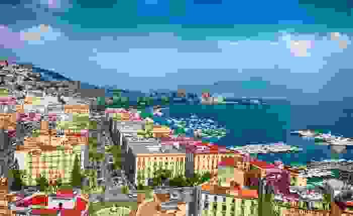 Panorámica de la ciudad de Nápoles