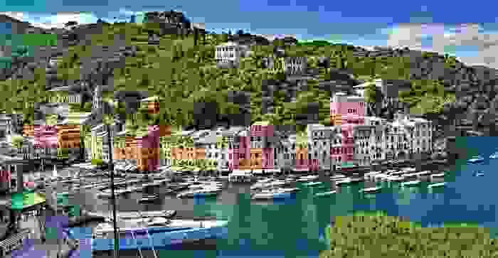 Pueblo costero de Portofino