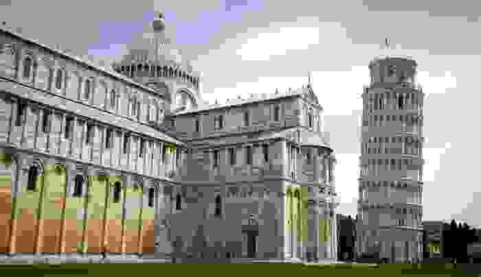 Torre y catedral de Pisa