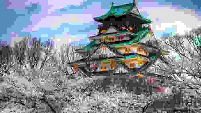Castillo de Himeji, en Osaka