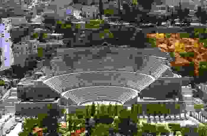 Anfiteatro romano, en la capital del país, Ammán