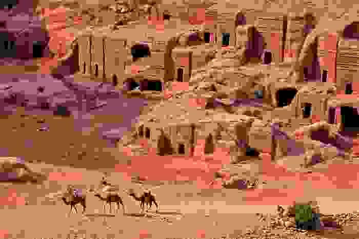 Ruinas de Petra, capital del antiguo reino nabateo