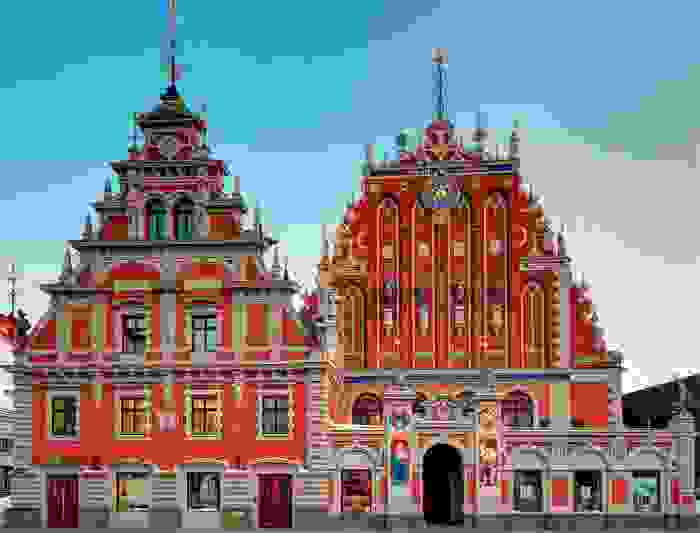 Casa de las cabezas negras, Riga