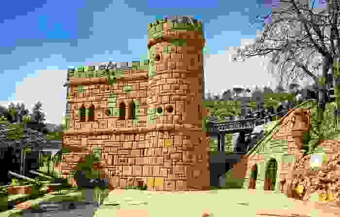 Castillo de Moussa, situado entre Deir el Qamar y Beit ed-Dine