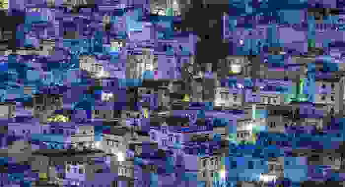 Chaouen, el pueblo azul, por Evan Hammonds