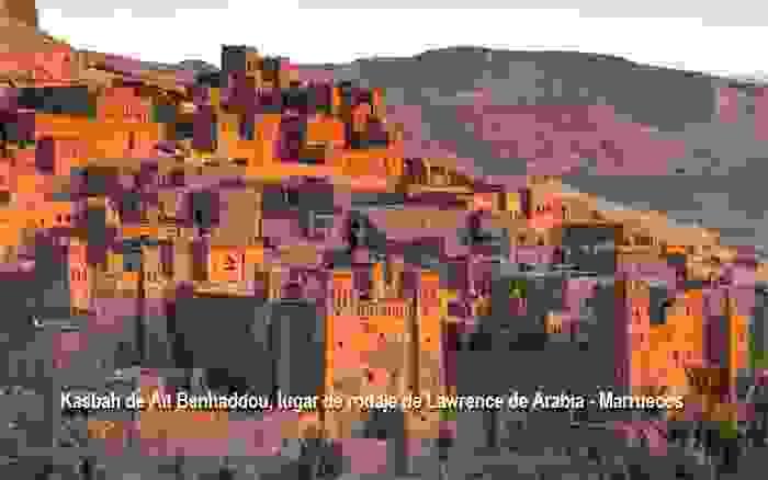 Kasbah de Aït Benhaddou, lugar de rodaje de Lawrence de Arabia