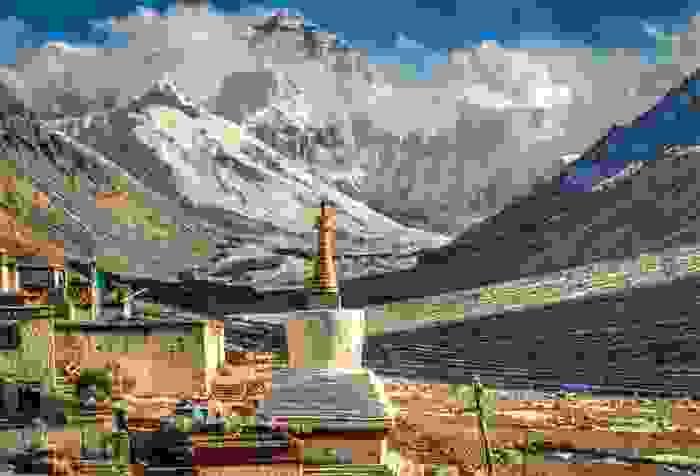 Campo base del Monte Everest, foto de Göran Höglund