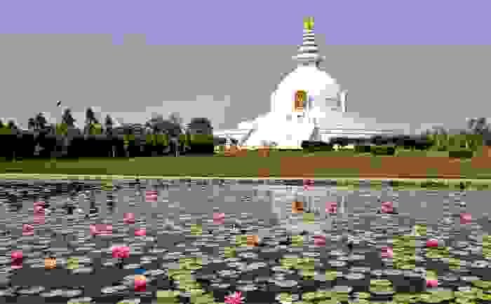 Lumbini, considerado como el lugar de nacimiento de Buda