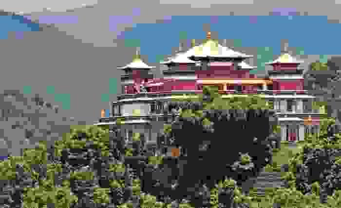 antiguo monasterio en Nepal