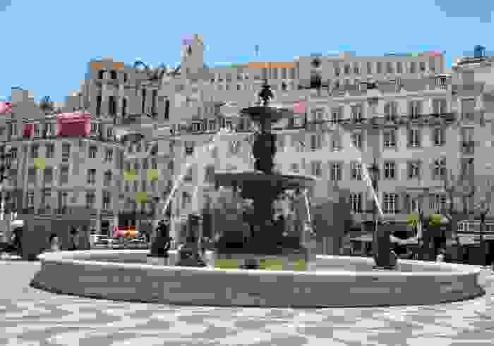 Plaza dom Pedro IV - Lisboa