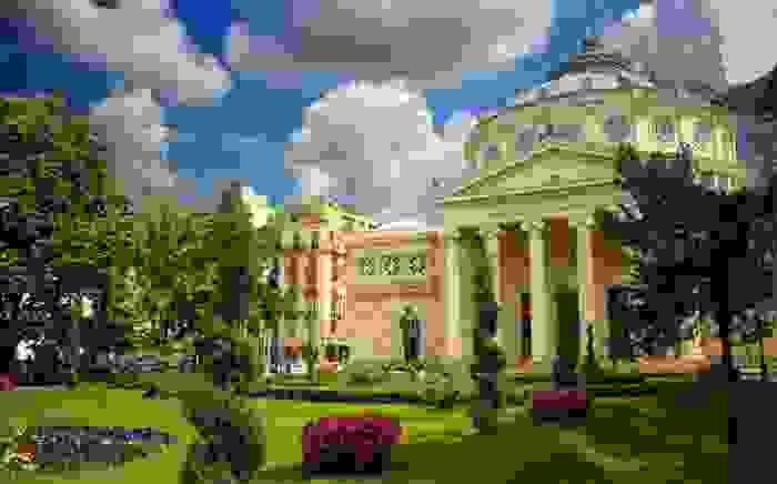 Ateneo Rumano, sala de conciertos importante en Bucarest