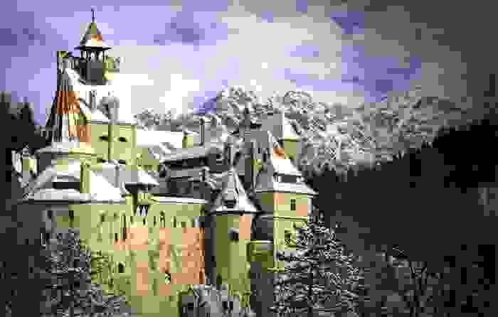 Castillo de Drácula (Bran Iarna)