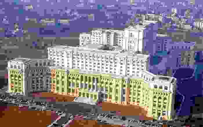 Palacio del Parlamento Rumano en Bucarest