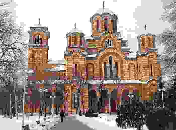 Iglesia ortodoxa de San Marcos, en Belgrado