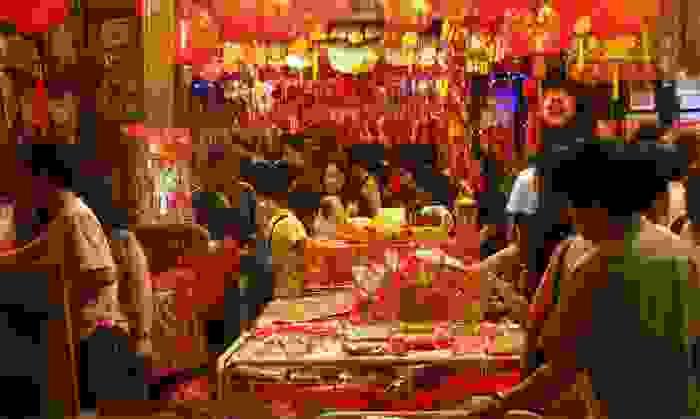 Mercado del barrio de Chinatown