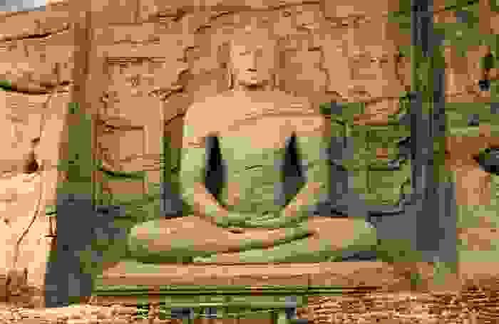 Estatua de Buddha, en Polonnaruwa