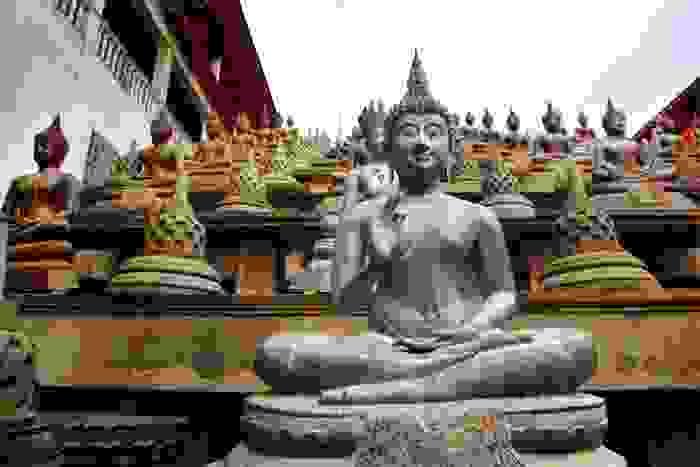 Templo de Gangaramaya Nawam Perehara, en Colombo