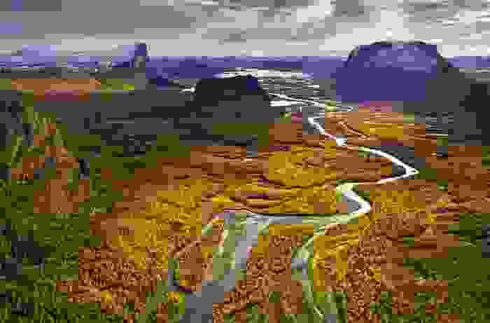 Valle de Rapadalen, en el Parque Nacional de Sarek